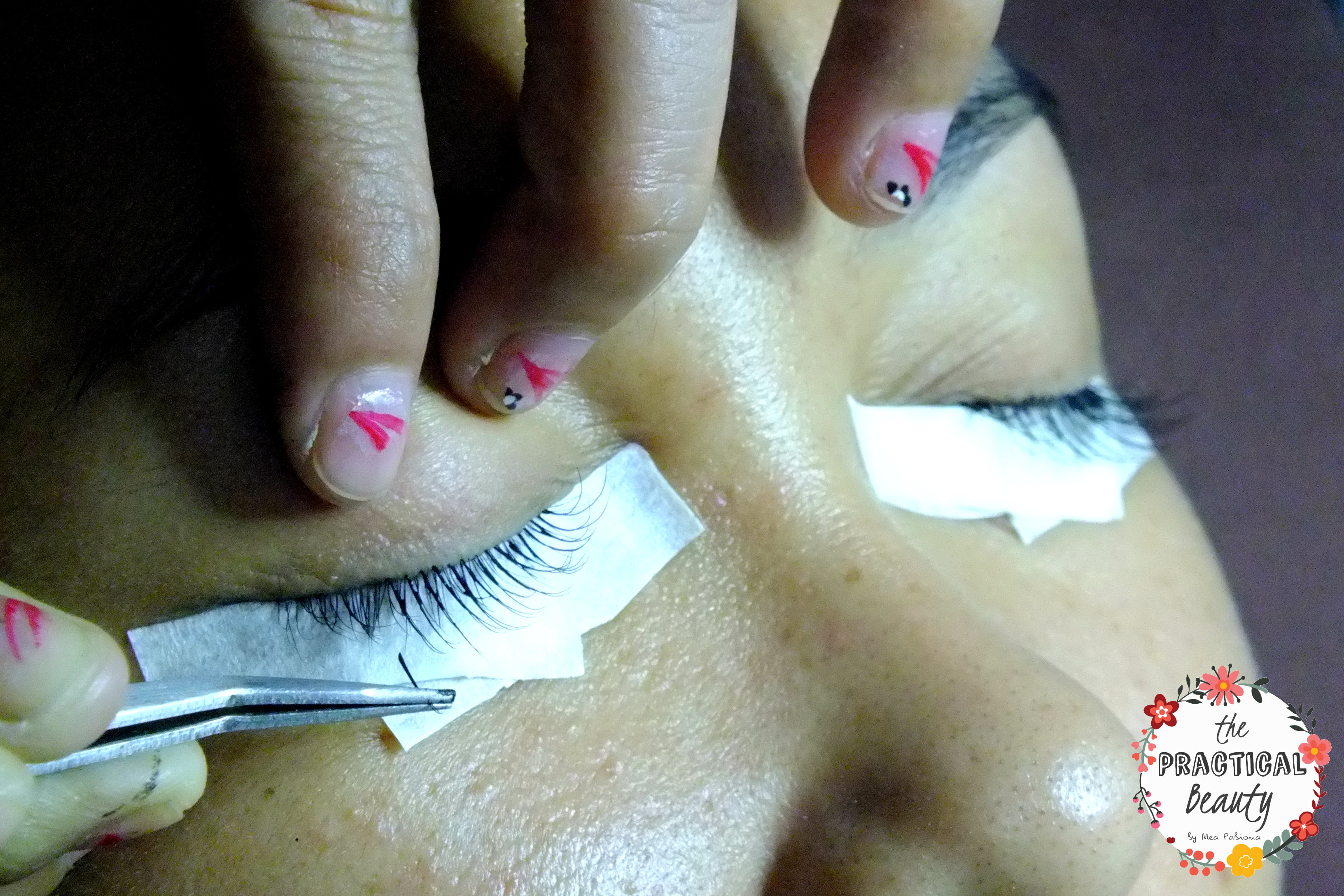 Eyelash Extensions Procedure