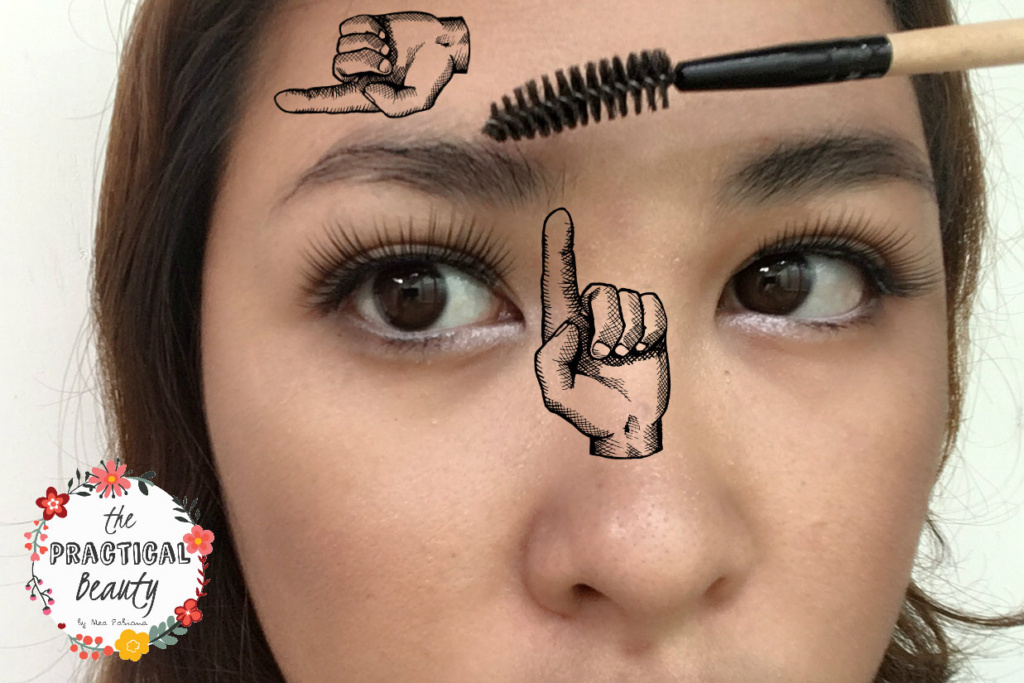 Brush Your Brows Based on Where the Hairs Grow