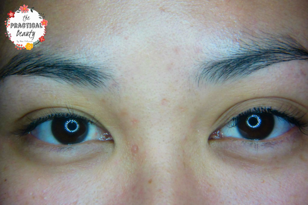 Final Result of my Lash Extensions
