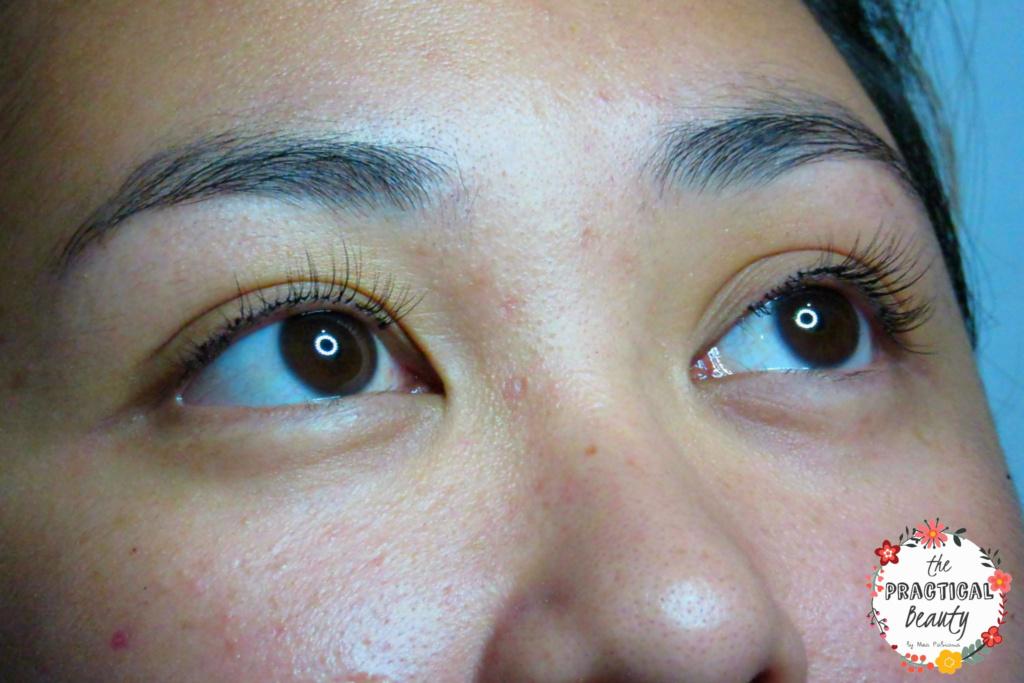 Beautiful Eyes After Eyelash Extensions