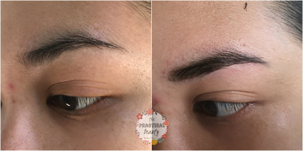 Brow Tinting Before And After With Etude House The Practical Beauty