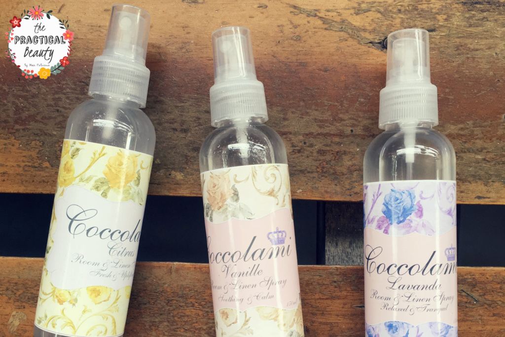 Coccolami Room and Linen Sprays | The Practical Beauty