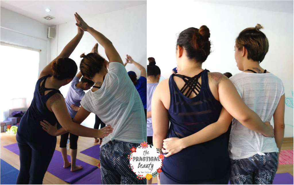 Partner Yoga Held at Bacolod | The Practical Beauty