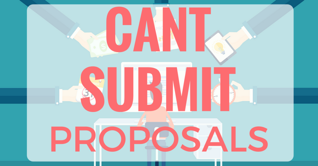 Why UpWork Online Freelancers Can't Submit Proposals | The Practical Beauty