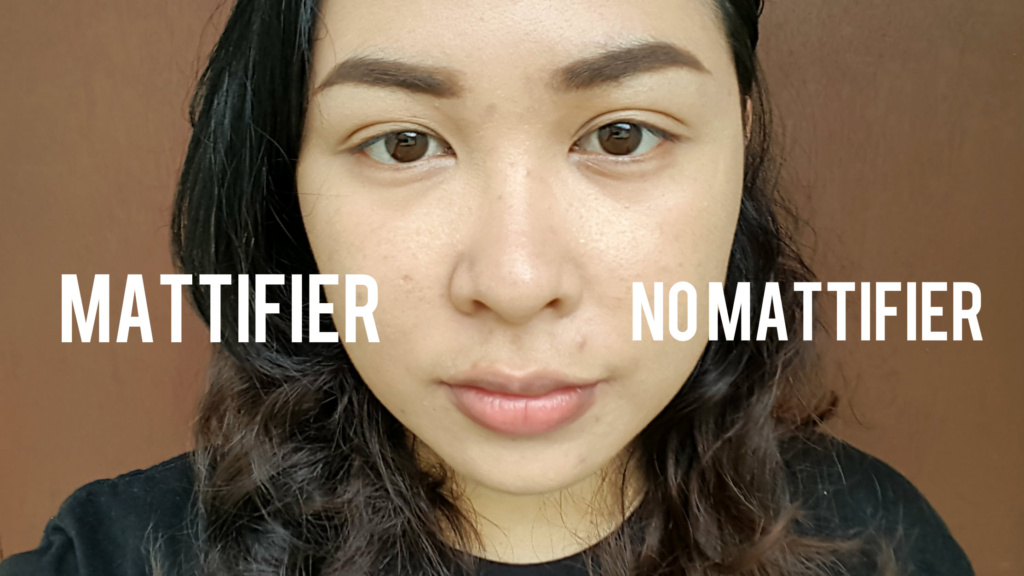 Quick FX No Shine Mattifier Review - Application | The Practical Beauty