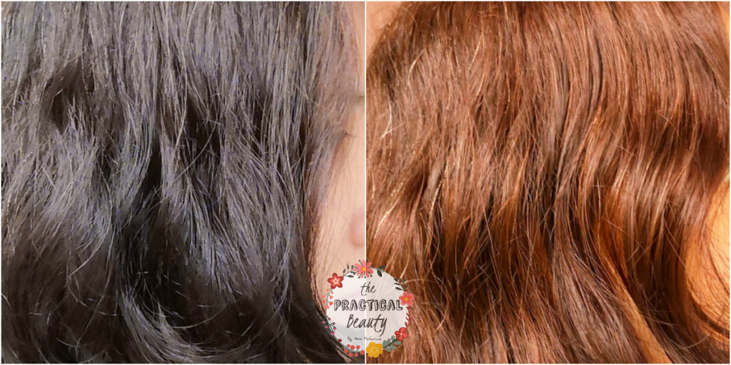 Palty Hair Dye Review in Sakura Creamy: Before and After | The Practical Beauty